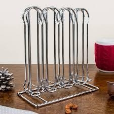 stainless steel  nespresso pod holder by dibor