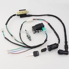 popular atv cdi ignition buy cheap atv cdi ignition lots from 50cc 70cc 90cc 110cc 125cc cdi ignition coil ngk spark plug wire harness wiring set atv