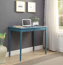 French country office furniture Shabby Chic Convenience Concepts French Country 36 In Desk Ebay Wood Veneer French Country Home Office Furniture Ebay