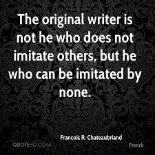 French Quotes Fascinating François R Chateaubriand Quotes QuoteHD
