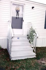 mobile home stairs kits design ideas and pictures regarding fiberglass steps prepare 7