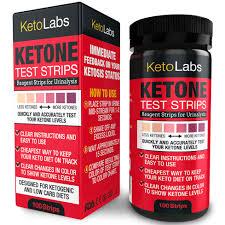 Ketone Strips Color Chart Best Ketone Test Strips Uk
