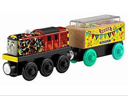 celebration salty train wooden railway