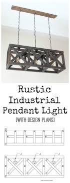 Diy Light Fixtures Best 25 Diy Light Fixtures Ideas On Pinterest Rustic Bathroom