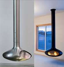 The Modern Fireplace  Through The Front DoorFloating Fireplace