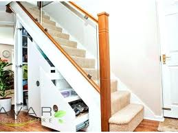 under stair closet storage ideas stair storage maximizing small spaces under