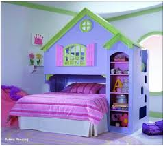 bedroom designs for girls with bunk beds. Marvelous Charming Barbie House Theme Bunk Bed For Fun Girls Room Bedroom Designs Girls With Bunk Beds