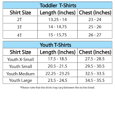 Uncommon Youth Size Chart By Age 2019