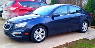 My 2015 Chevy Cruze Diesel Blue Ray.
