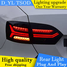 2012 Vw Jetta Brake Light Replacement Us 300 0 25 Off D_yl Car Styling For Vw Jetta Taillights 2012 2017 Jetta Led Tail Lamp Rear Lamp Car Goods Drl Brake Park Signal Led Light In Car