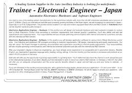 Cover Letter Design Electrical Electronics Engineering Cover