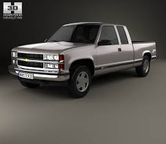All Chevy c1500 chevy : Chevrolet C1500 (K1500) Extended Cab 1988 3D model - Hum3D
