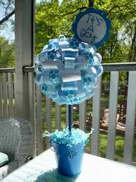 baby shower centerpieces for boy