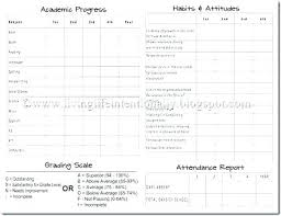Student Report Card Template Customize Report Card Templates Online Within Template