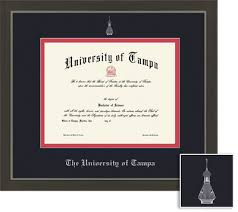 the university of tampa bookstore framing success metro diploma  framing success metro diploma frame double matted in a modern slate gray a pewter