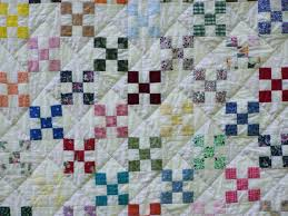 When Life Gives You Scraps, Make Quilts!: Nine-Patch & Hourglass & So, for those of you non-quilters (or maybe beginning quilters), here's why  it's called