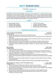It Project Manager Resume Sample Aurelianmg Com