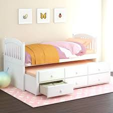 twin trundle bed white beautiful girl room design with wooden daybed uk