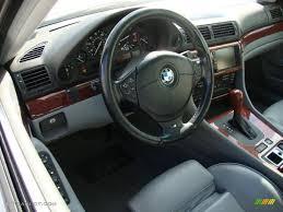 2001 BMW 7 Series 740i Sedan interior Photo #41060207 | GTCarLot.com