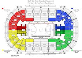 Resch Center Seating Chart With Seat Numbers State Tournament Tickets Wisconsin Interscholastic