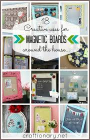 How To Make A Magnetic Memo Board Craftionary 13