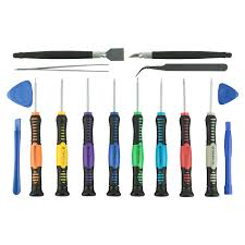 iphone repair kit. 16 piece smartphone repair kit iphone