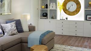 home design small spaces. interior design \u2013 small space makeover: a bright and cheerful basement - youtube home spaces