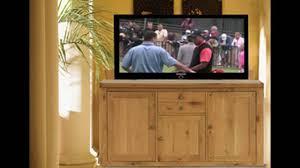 Hidden Tv Cabinets Hidden Tv Cabinet Lift Youtube