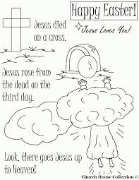 Christian Easter Coloring Pages For Toddlers Printable Coloring