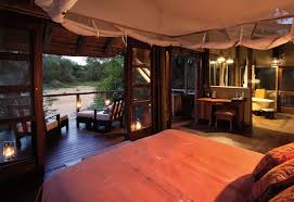Lodge Bedroom Luxury Safari Lodge Accommodation In Kruger National Parkrhino