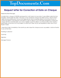 Request Letter For Correction Of Payment Confidence220618 Com