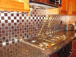 kitchen backsplash stainless steel tiles: kitchen backsplash glass mosaictiles in stainless steel tiles