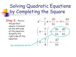 13 solving quadratic