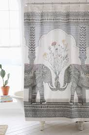 curtains zen and the art of choosing luxury shower curtains elephant shower curtains beautiful shower