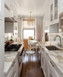 ... Galley Kitchen 10 Enjoyable Design Ideas Cozy Manhattan Apartment  Combines Vintage Flare With Modern Touches.