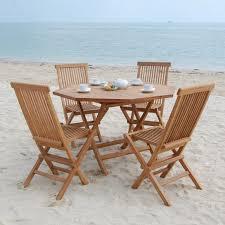 teak outdoor dining set foldable dinning table outdoor teak patio within foldable patio furniture set