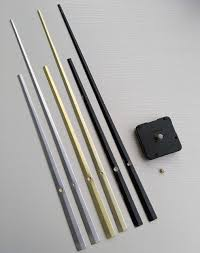 100pcs sweep large pointer diy quartz clock mechanism movement repair kits with three colors clock hands