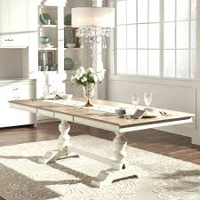 ... Dining Room Decor Dining Room Trend Room Ideas Mckay Country Antique  White Pedestal Extending Dining Table