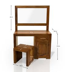 height of a vanity table ideas