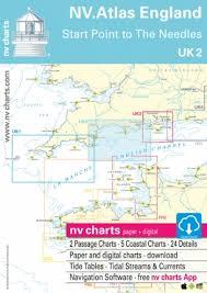 Nv Charts App Nv Chart Atlas Uk2 Start Point To The Needles Todd