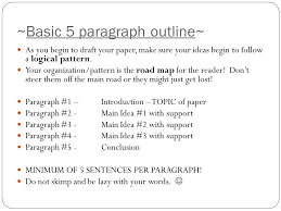 writing powerpoint ppt video online ~basic 5 paragraph outline~