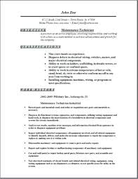 Maintenance Worker Resume Sample Professional Resume