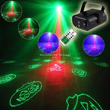 Details About R G Laser Halloween 24 Patterns Projector Led Bar Dj Dance Party Light Show T123