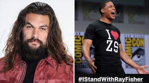 Dc films boss walter hamada remains the subject of his apparent frustrations, and fisher has again. Aquaman Star Jason Momoa Posts Istandwithrayfisher Amid Fisher S Fight With Warner Bros Deadline