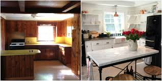 Kitchen Paneling Wood Paneling Makeovers How To Update Wood Paneling