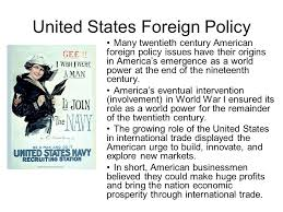 american foreign policy essay american foreign policy essay  essays us foreign policy essayexplain us foreign policy after ww essay image