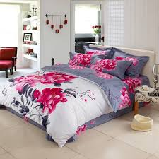 chinese classical painting and calligraphy bedding set queen size extraordinary bed