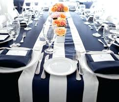 Black And White Striped Tent Rental Plastic Round Tablecloth Miami.