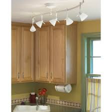 image of monorail lighting for kitchen
