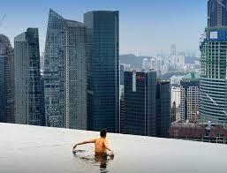 infinity pool singapore edge. Close To The Edge. Infinity Pool At 57th Floor Of MBS In Singapore Edge T